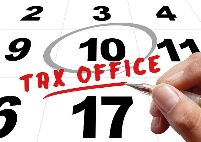 key dates october 2016 tax news